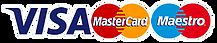 Visa - MasterCard - Maestro
